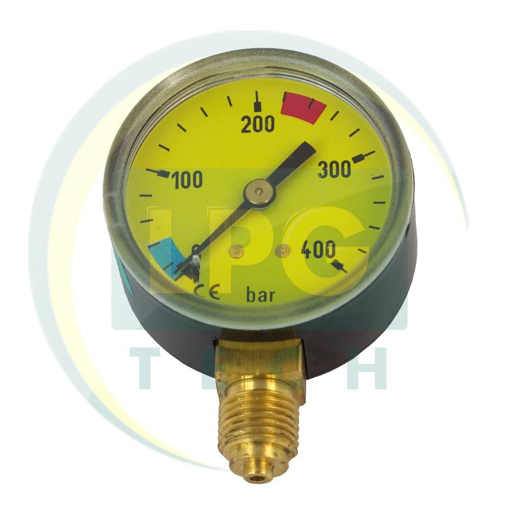 Манометр, газовий манометр, манометри з індикацією і резервом, манометр в редуктор, манометр в балон