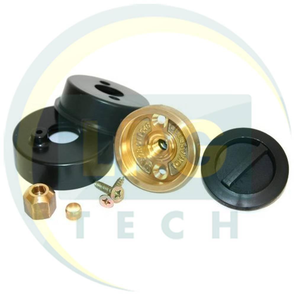 Заправний пристрій Tomasetto з кришкою для врізання в бампер