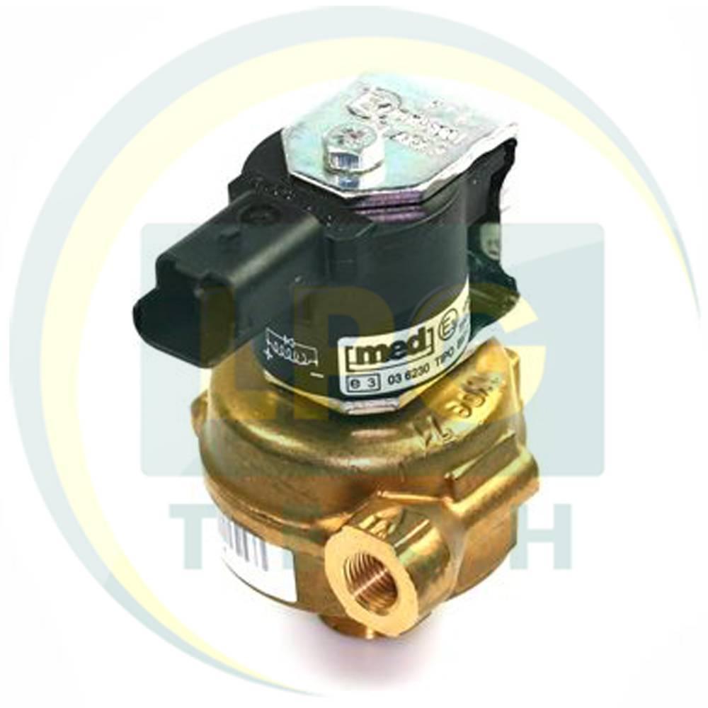 Електроклапан газу, ЕКГ, клапан газу, електромагнітний газовий клапан, клапан ГБО