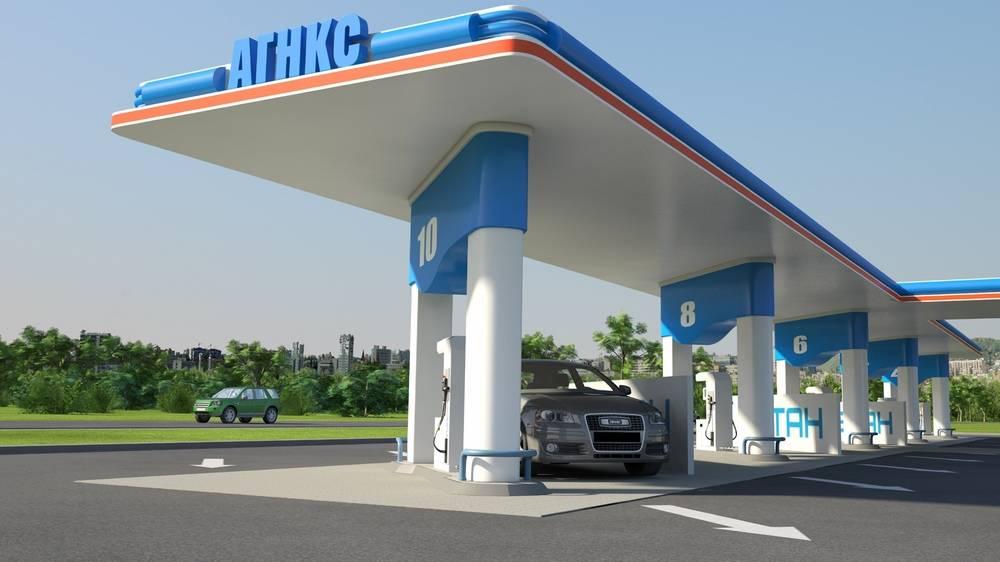 Автомобільні газонаповнювальні компресорні станції АГНКС