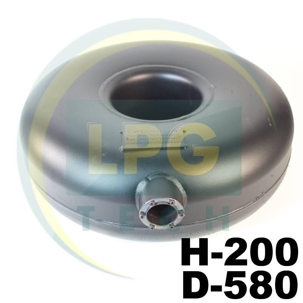 Балон газовий тороідальний Atiker 40 літрів 200х580 мм зовнішній (пропан)