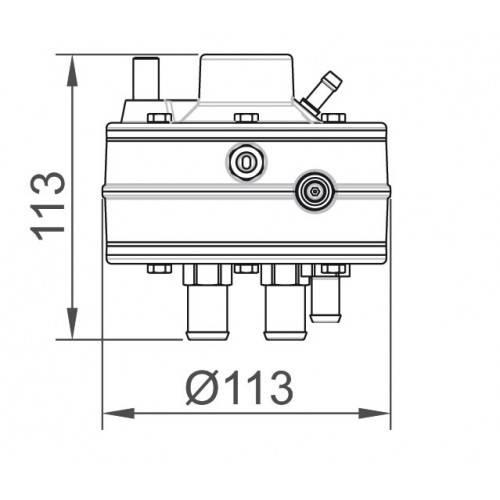 Схема редуктора №1