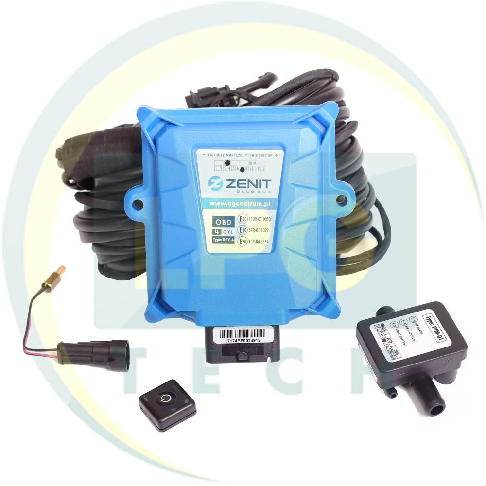 Інжекторна система Zenit BLUE BOX OBD 4 циліндри