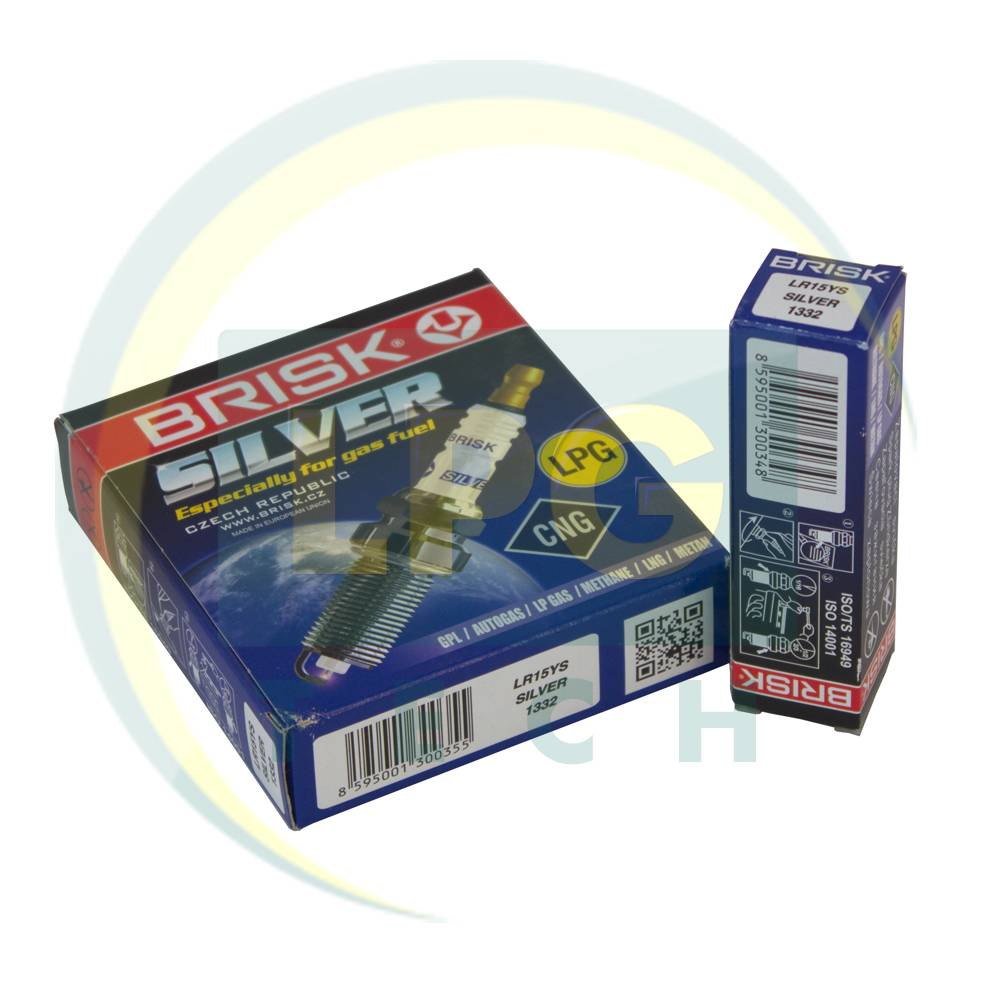 Свічки запалювання Brisk Silver LR15YS.4K (4 штуки)