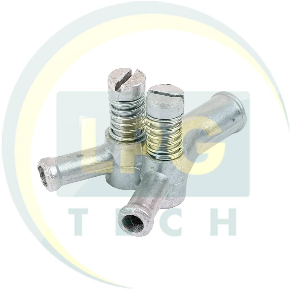 Регістр потужності 16х12х12 з 2 регулюваннями метал