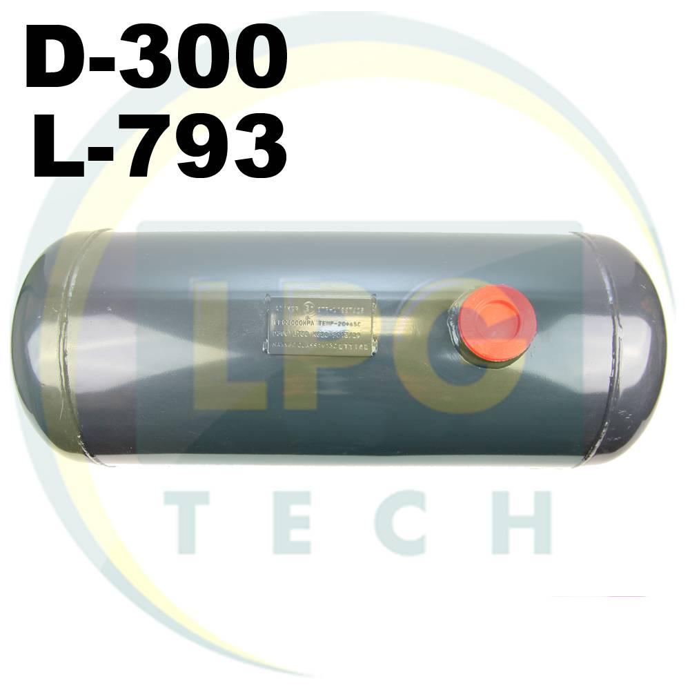 Балон пропан циліндричний Atiker 50 літрів 300 х 795 мм