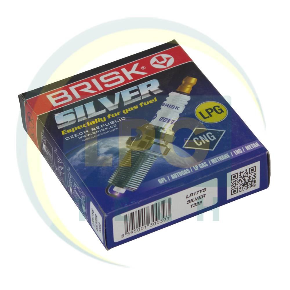 Свічки запалювання Brisk Silver LR17YS.4K (упаковка 4 шт.)