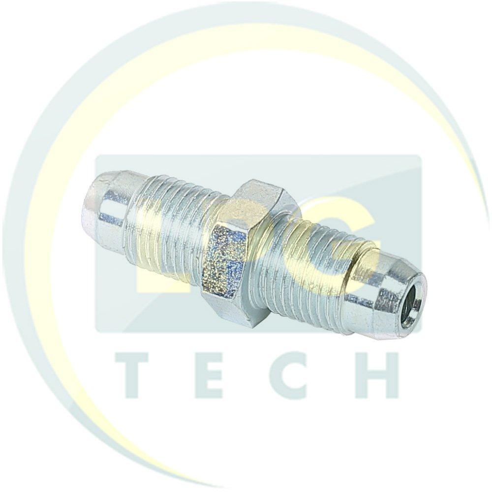 Перехідник з редуктора на газовий клапан D6 (М10х1) - D6 (М10х1) (OC.084)