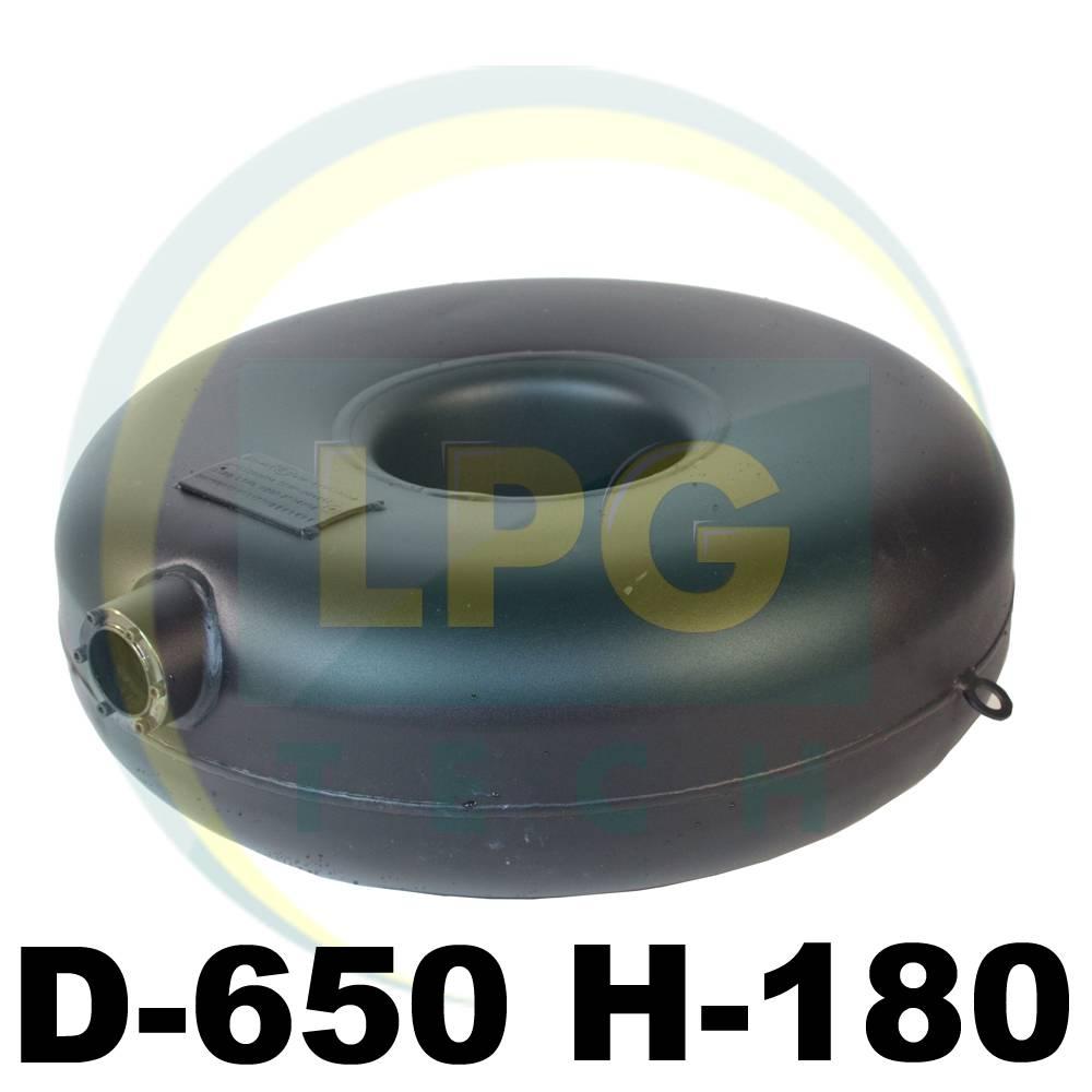 Тороїдальний балон зовнішній Atiker 47 літрів 180х650 мм