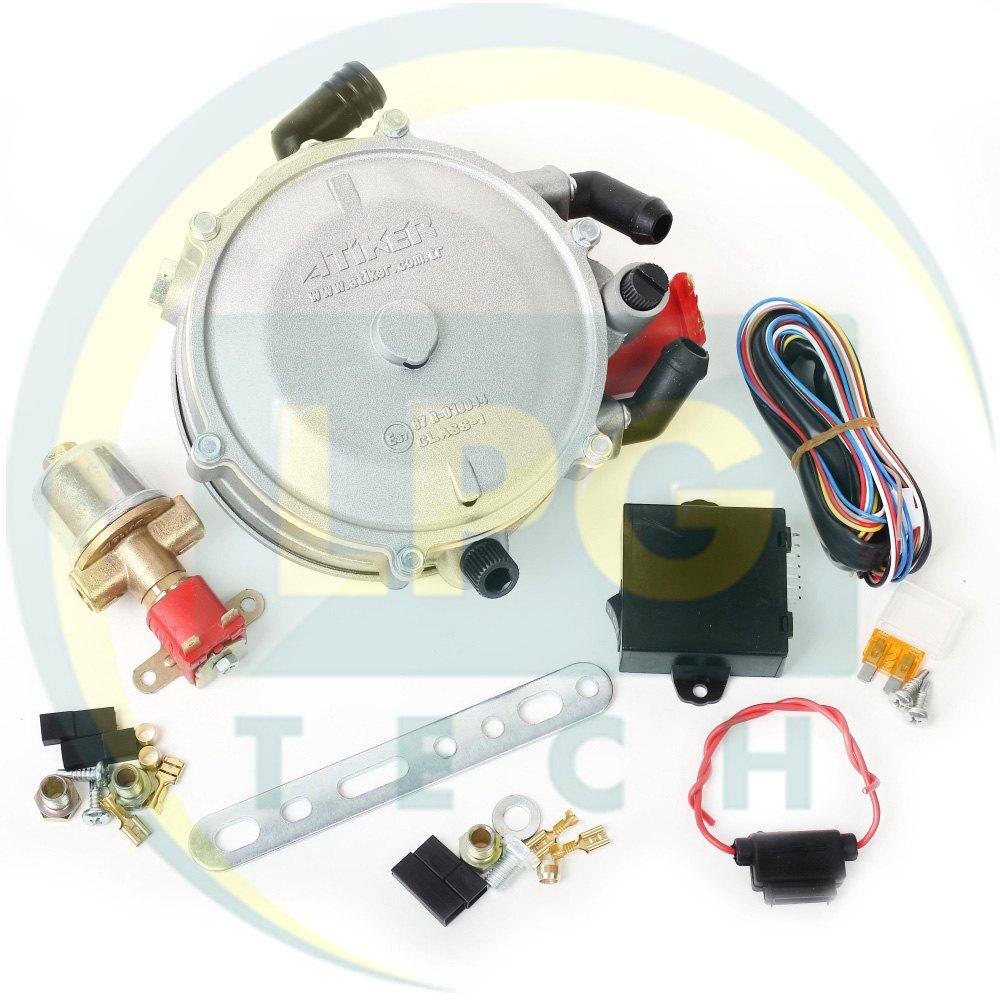 Мінікіт ГБО 2 покоління Atiker для інжекторних автомобілів