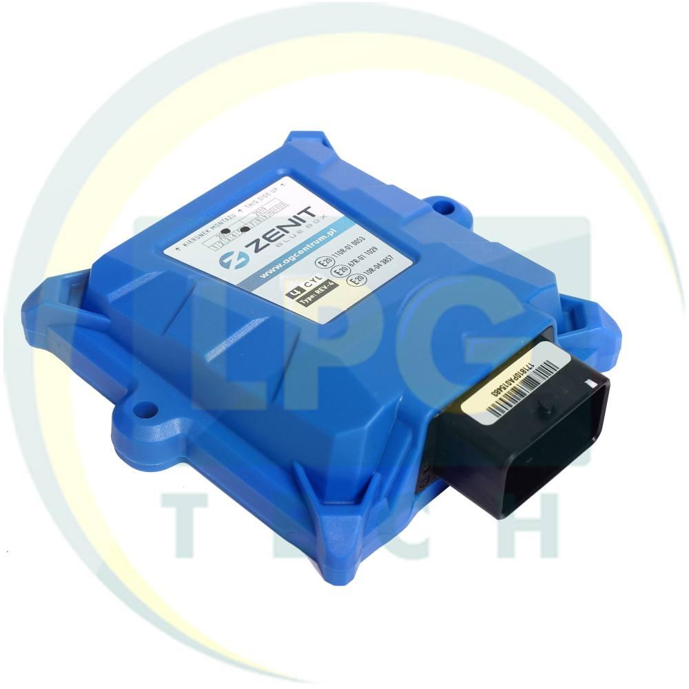 Огляд систем упорскування газу Zenit Bluebox/Bluebox OBD