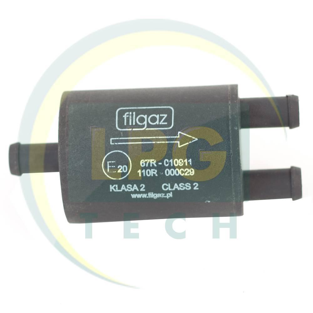 Фільтр тонкого очищення Filgaz 1 вхід - 2 виходи пластиковий