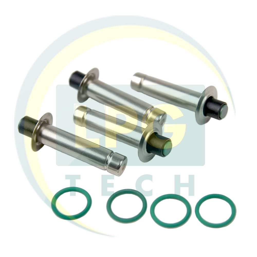 Ремкомплект газових форсунок OMVL 4 циліндри (пластикова планка) (900141)