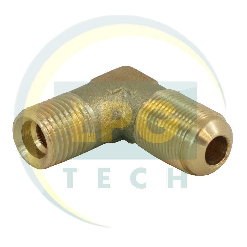 Кутовий з'єднувач для мультиклапану G1/4 / M14x1 (8 мм-8 мм)