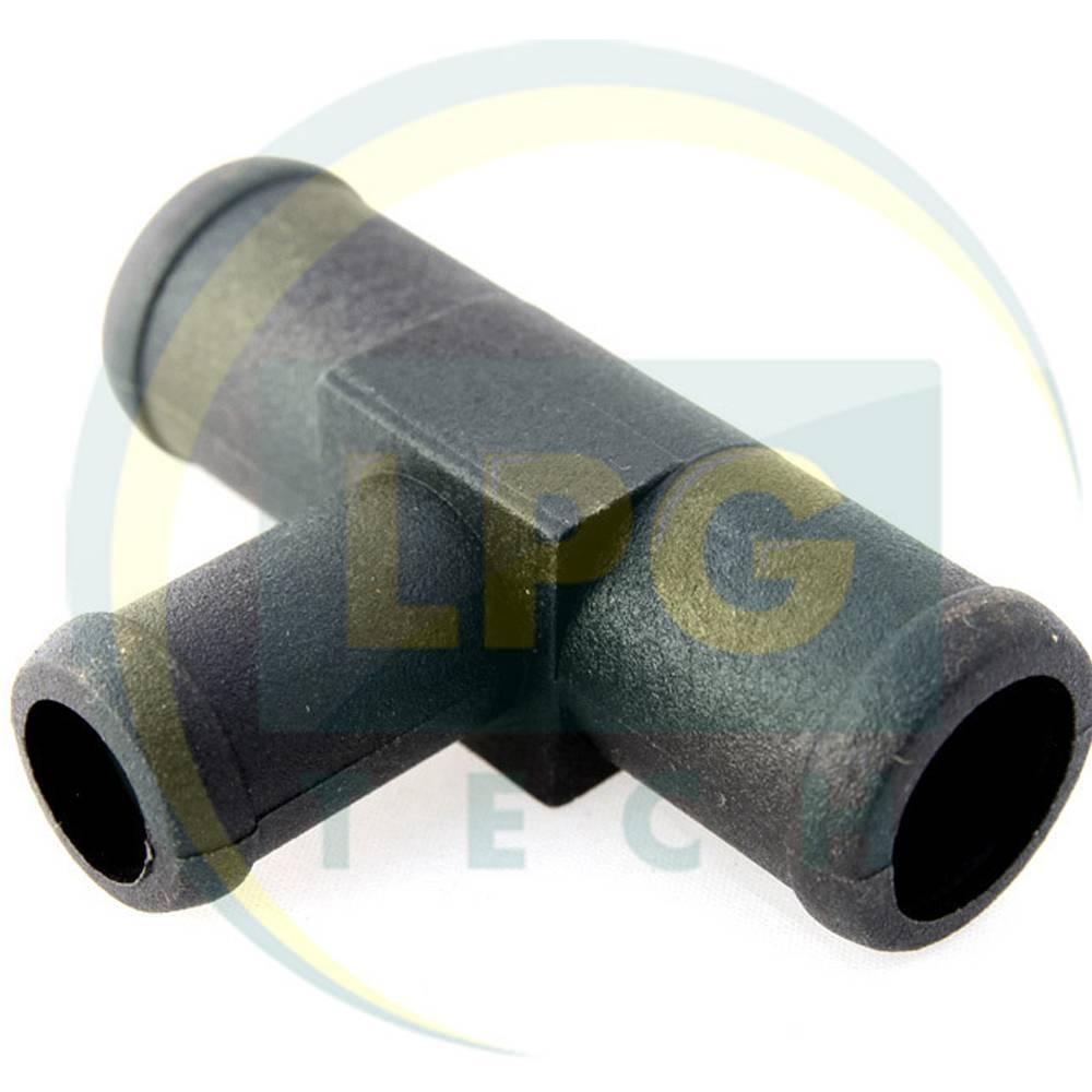 Тосольный тройник 16х16х10 мм пластик