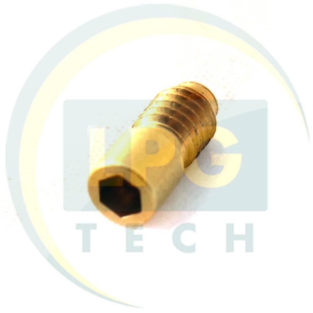 Штуцер виходу газу OMVL (Valtek тип 32) D2,00 мм для шлангу D5 (пластиковий корпус) (904505)