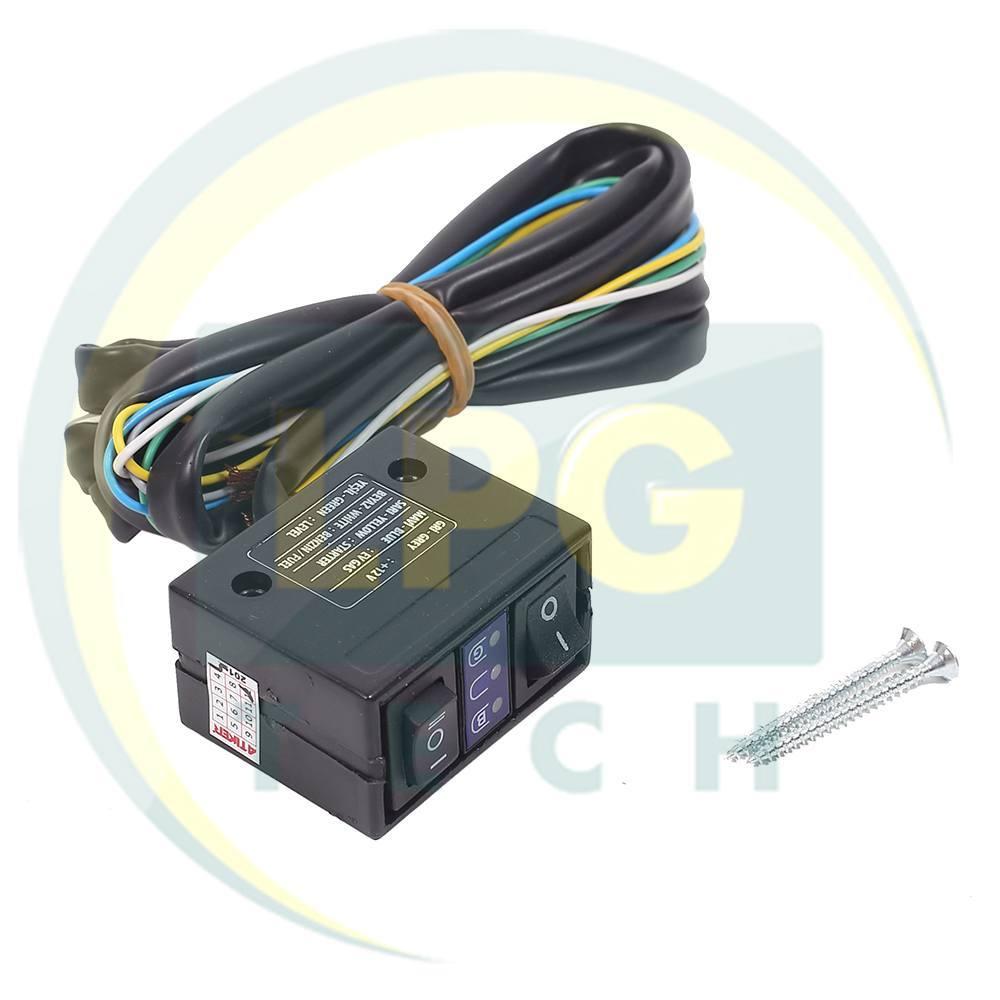 Перемикач Atiker 3021 для вакуумних редукторів