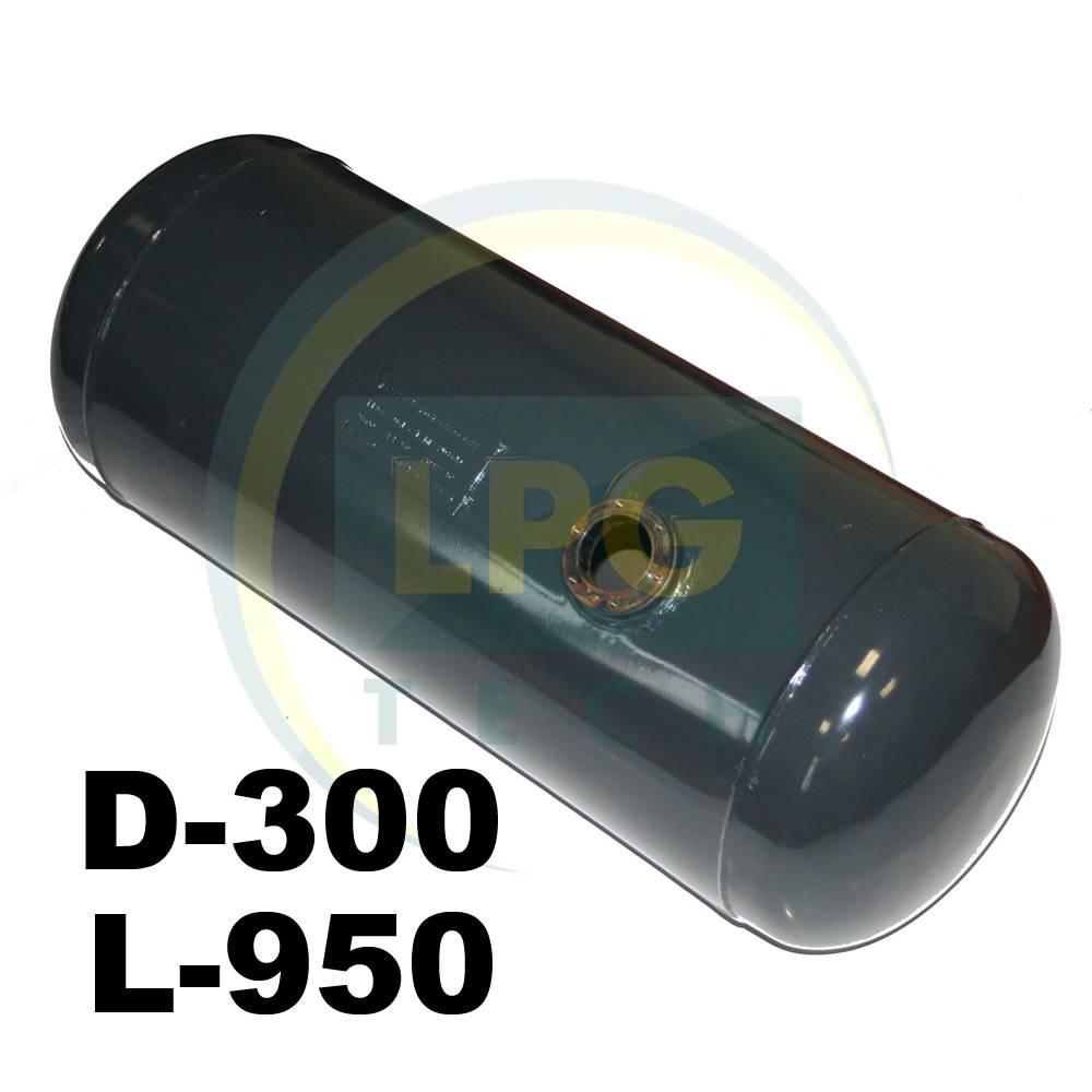 Балон пропан циліндричний Atiker 60 літрів 300 х 950 мм