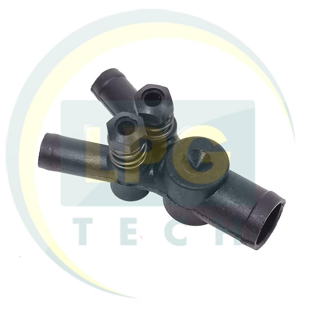 Дозатор газу Rybacki 19x12x12 мм з двома регулювальними гвинтами (400-001)