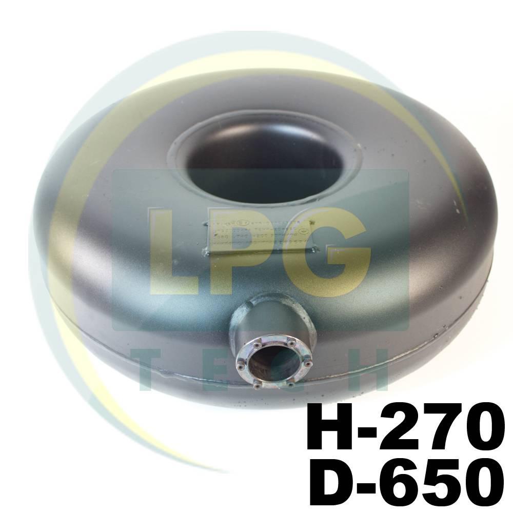 Балон тороідальний Atiker 72 літри 270х650 мм зовнішній пропан