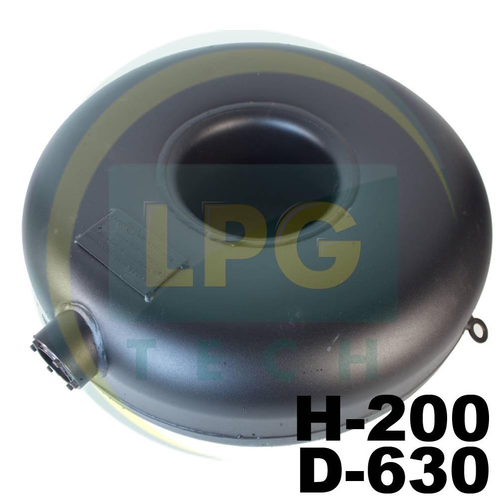 Балон пропан Atiker 48 літрів 200х630 мм під запаску зовнішній