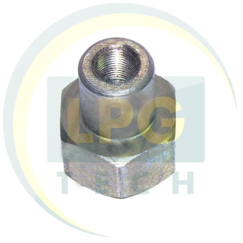 Перехідник сталевий D6 на вентиль ВМР-2