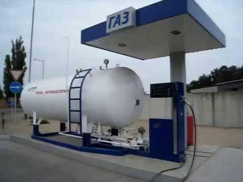 Автомобільна газозаправна станція, автомобільна газонаповнювальна станція