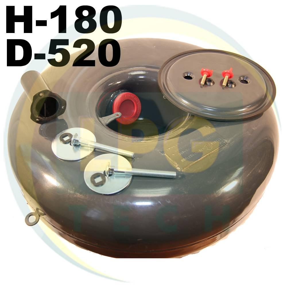 Тороїдальний балон Atiker 27 літрів 180х520 мм