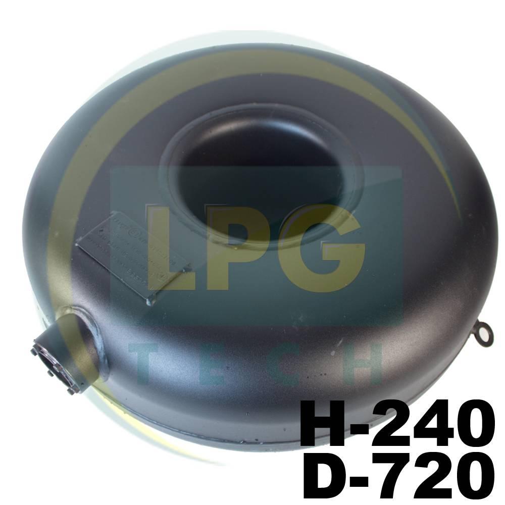 Балон зовнішнього типу пропан тороідальний Atiker 76 літрів 240х720 мм