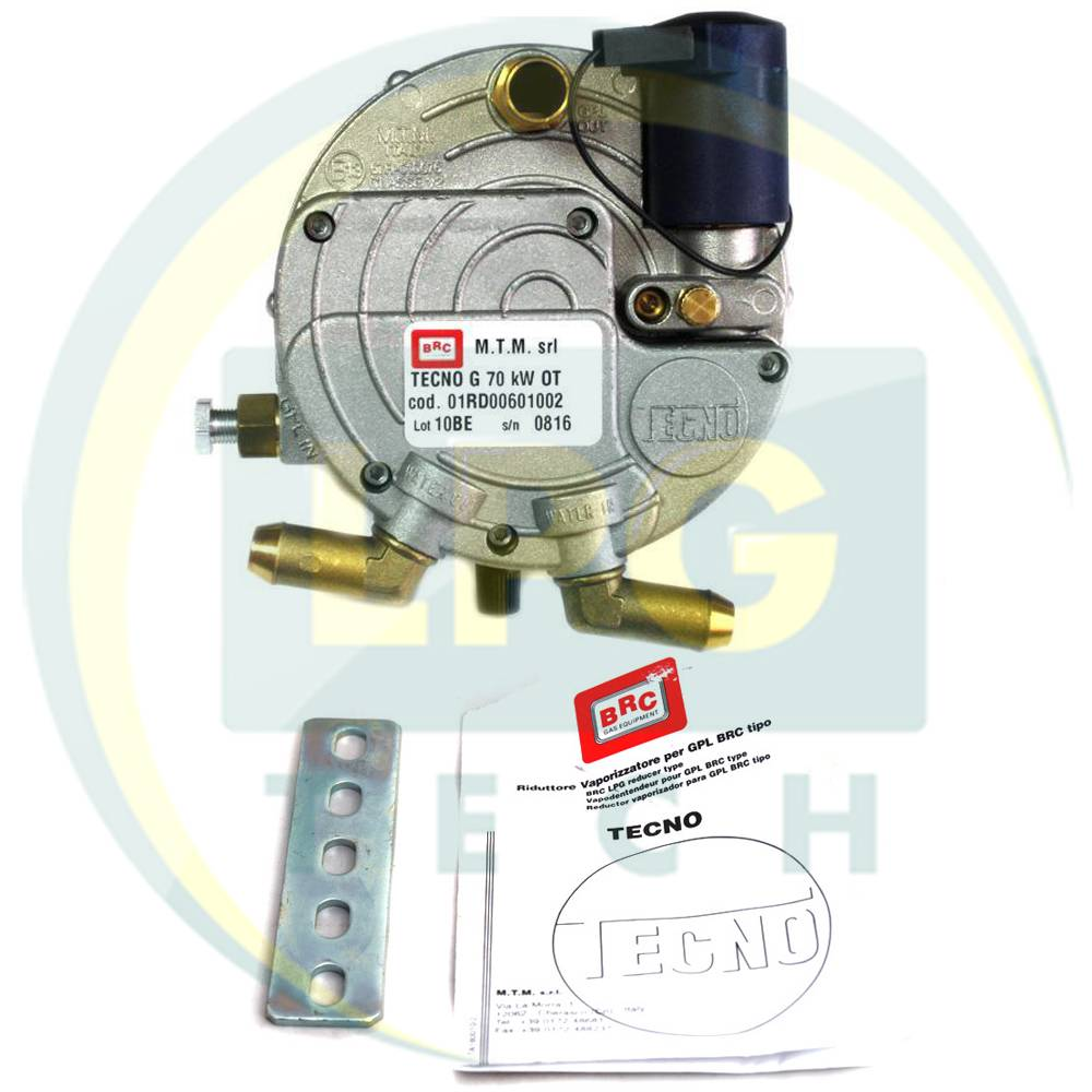 Редуктор газовий BRC Tecno до 70 kW