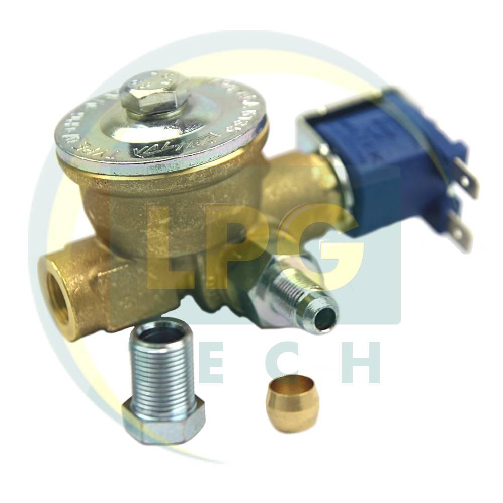 Електроклапан газу Valtek пропан (вхід D8, вихід D6)
