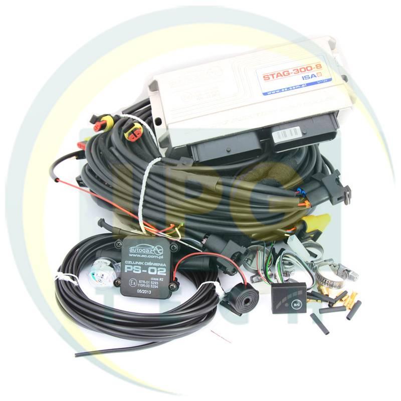 Інжекторна система STAG-300-8 ISA 2 8 циліндрів