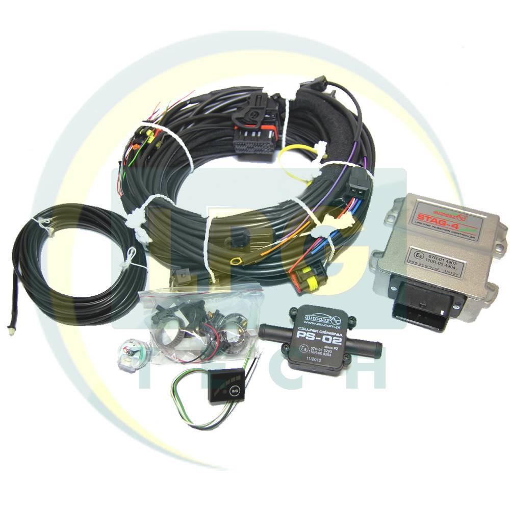 Інжекторна система STAG-4 Plus 4 циліндри