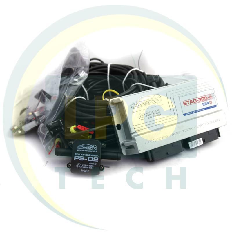 Інжекторна система STAG-300-6 ISA2 6 циліндрів