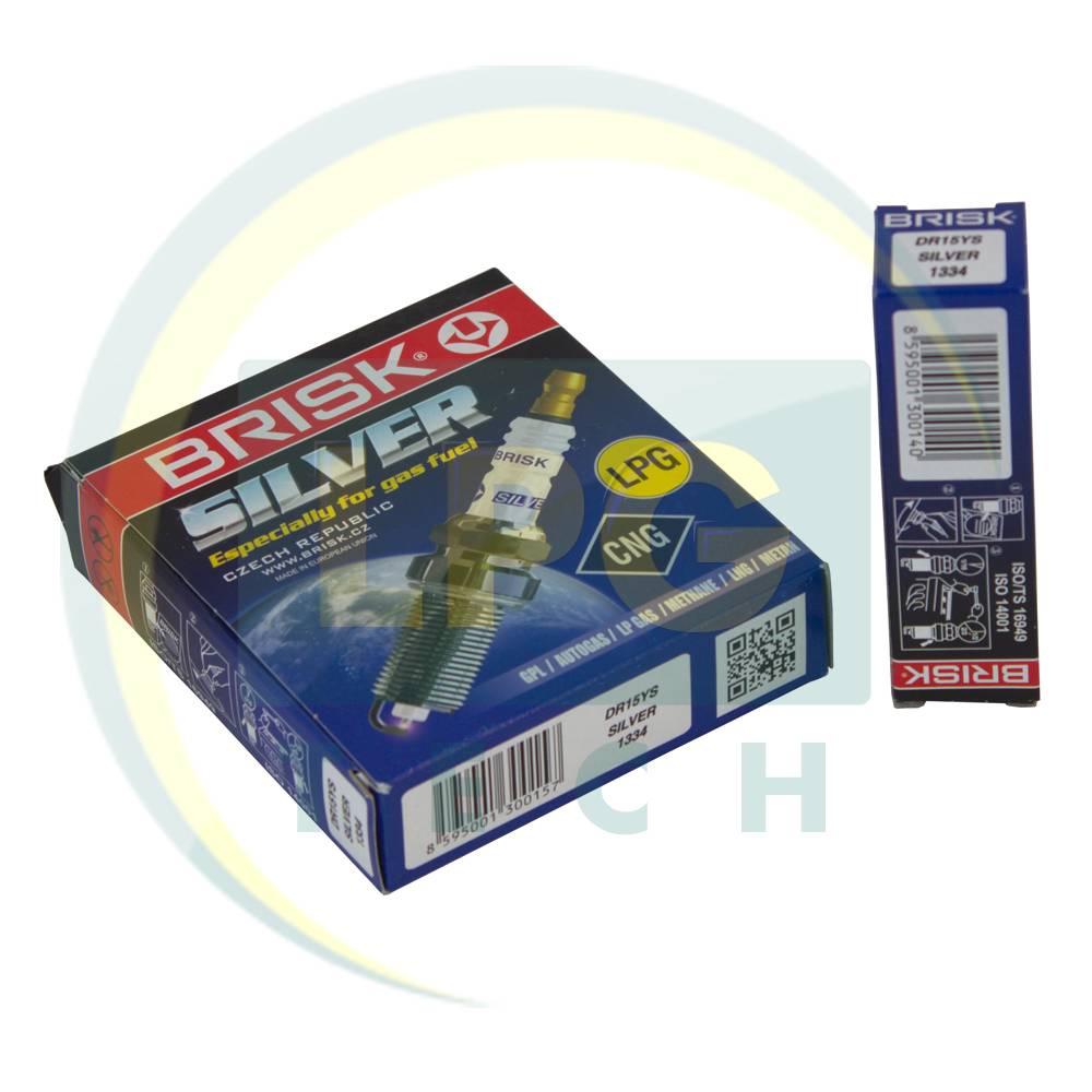 Свічки запалювання Brisk Silver DR15YS.4K (упаковка 4 штуки)