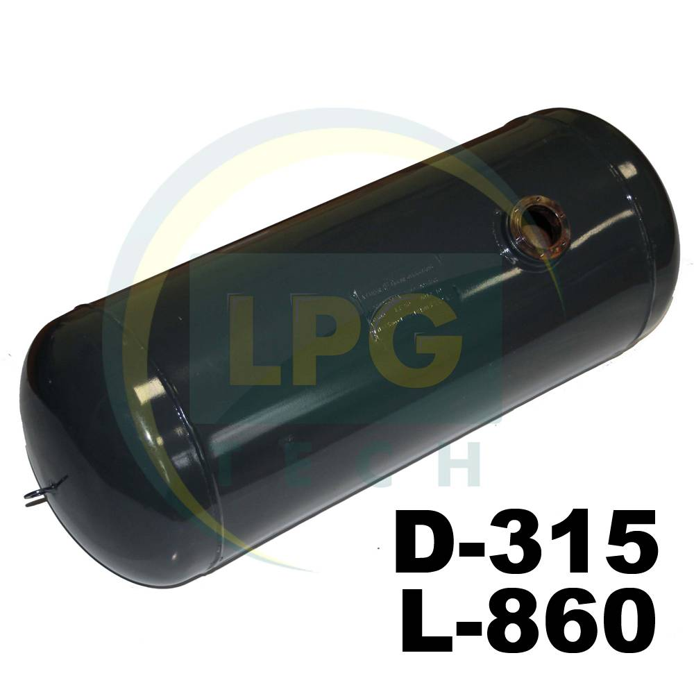 Балон пропан циліндричний Atiker 60 літрів 315х860 мм