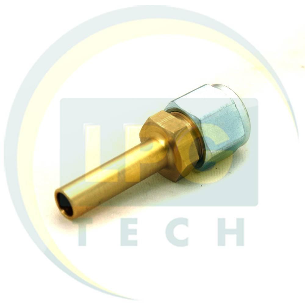 Штуцер прямий для термопластикової трубки FARO D8 мм