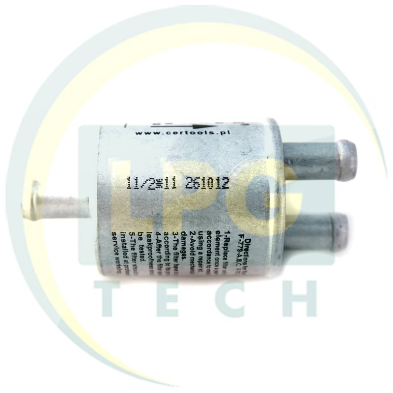 Фільтр тонкого очищення Certools 1 вхід D12 - 2 виходи D12