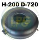 Тороїдальний балон зовнішній Atiker 61 літр (200х720 мм)