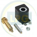 Ремкомплект в клапан газу редуктора Torelli Taurus/мультиклапана в зборі (котушка+клапан)