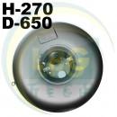 Тороїдальний балон Tugra Makina 72 літра (270х650 мм)