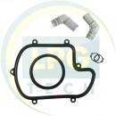 Штуцер тосольний BRC АТ90Р, TECNO (пластик) (02RR00990026)