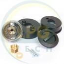 ВЗП Tomasetto з кришкою і контркришкою під термопластикову трубку (MVAT3311TP)