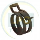 Хомут Mikalor D25 пружинний для рукава D17 мм (03031560)