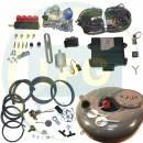 Комплект ГБО 4 поколения Zenit PRO/PRO OBD 4 цилиндра (Редуктор на выбор, форсунки Valtek/OMVL, фильтр, баллон, мульт., трубки, рукава)