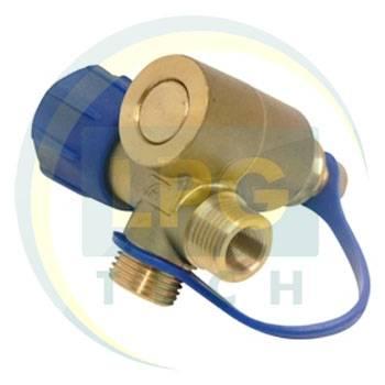 Заправочное устройство Tomasetto флажковое с адаптером и заглушкой под трубку D8 мм
