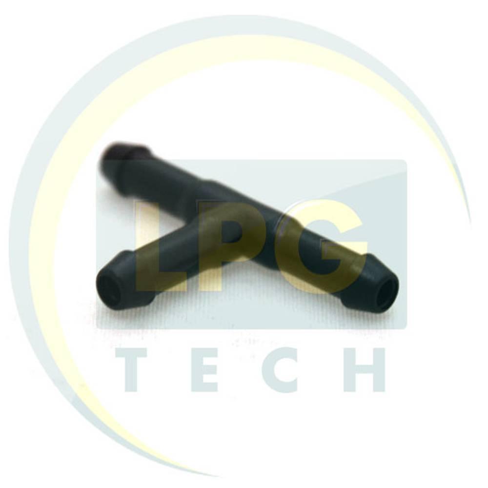 Тройник вакуумный 5х5х5 мм (пластик)