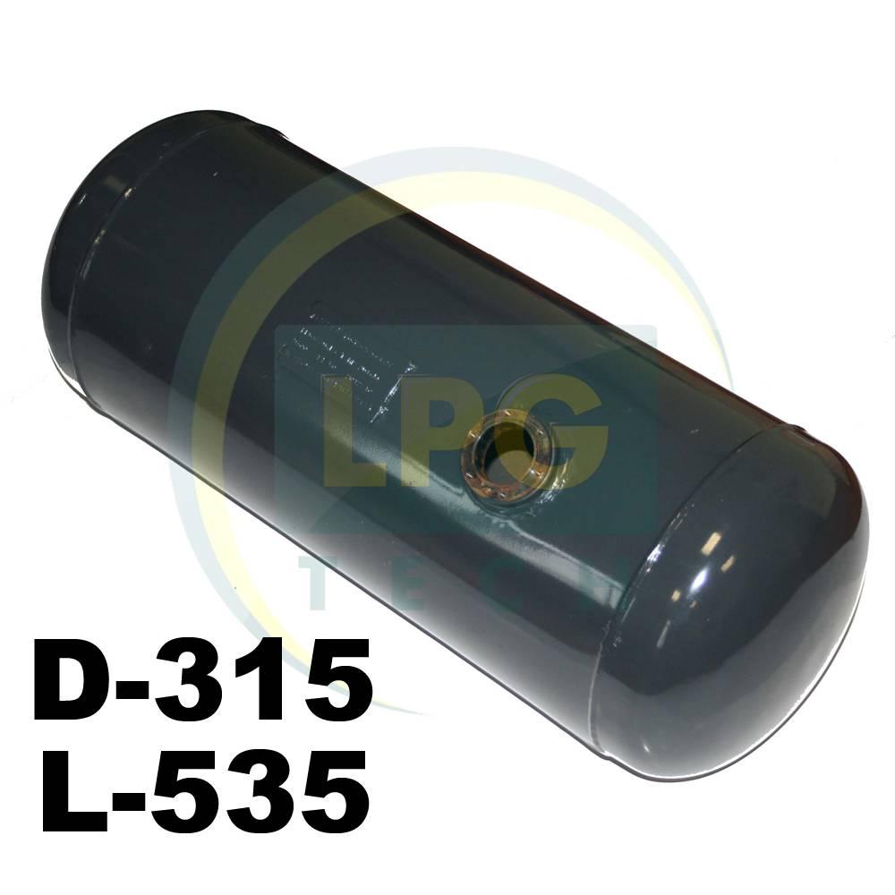 Баллон пропан цилиндрический Atiker 35 литров 315х535 мм