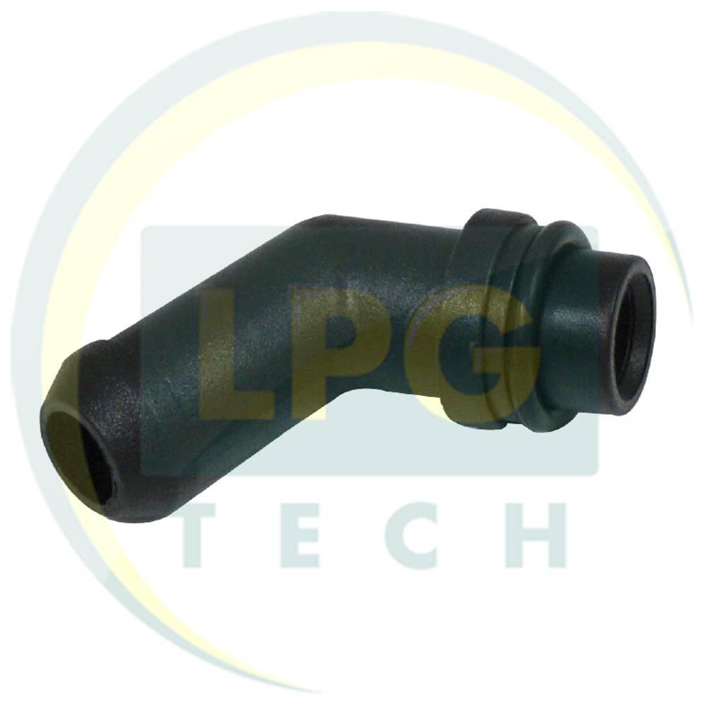 Штуцер тосольный для редуктора Tomasetto (с резиновой прокладкой)
