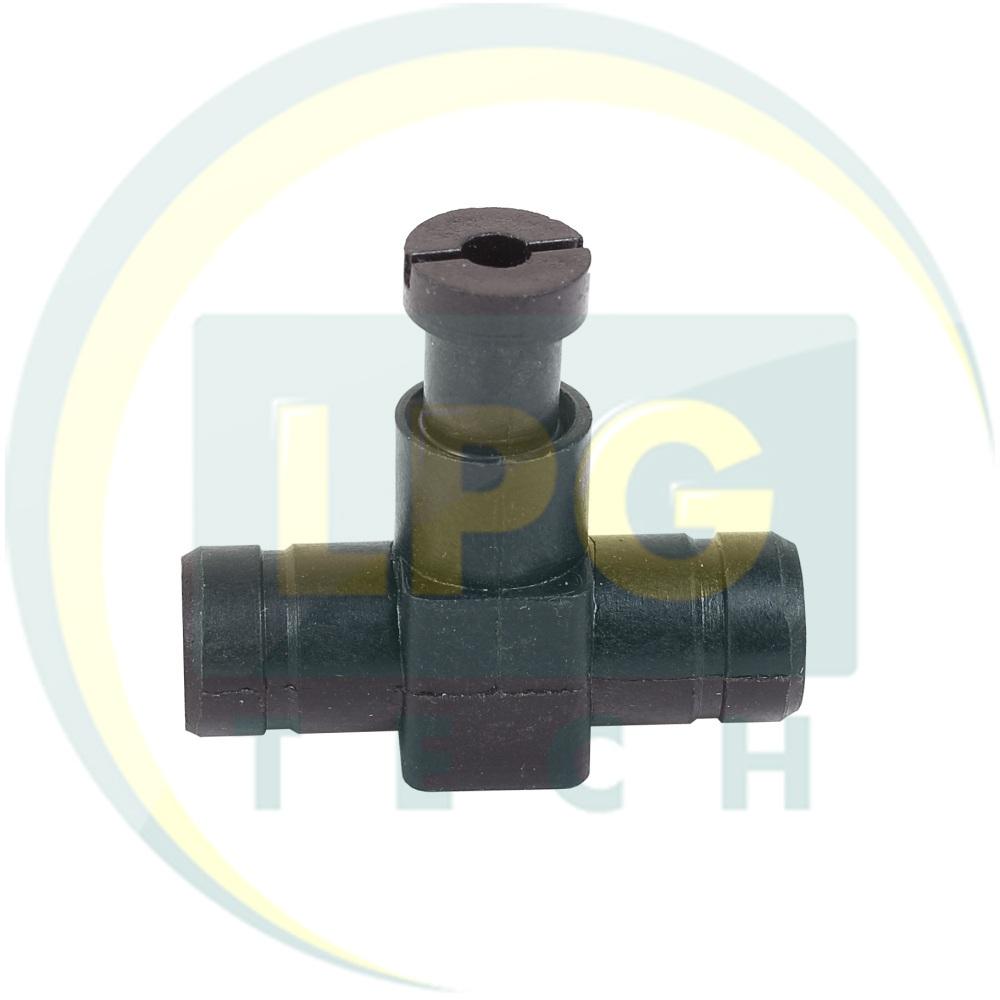 Дозатор газа 17x17 мм пластиковый